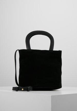 LEATHER - Schoudertas - black