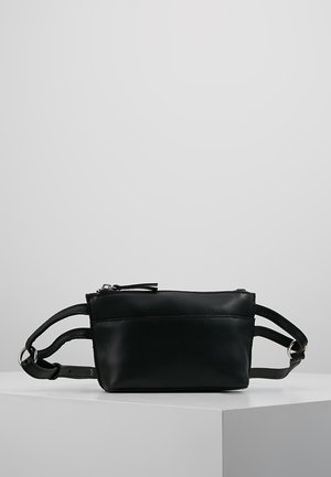 LEATHER - Marsupio - black
