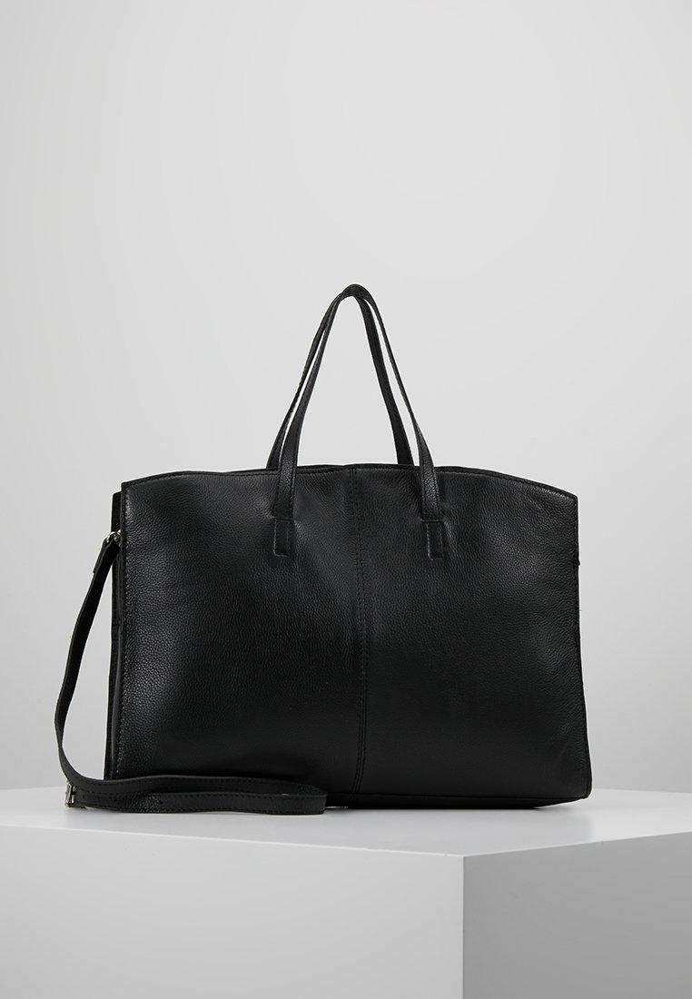 KIOMI - LEATHER - Notebooktasche - black