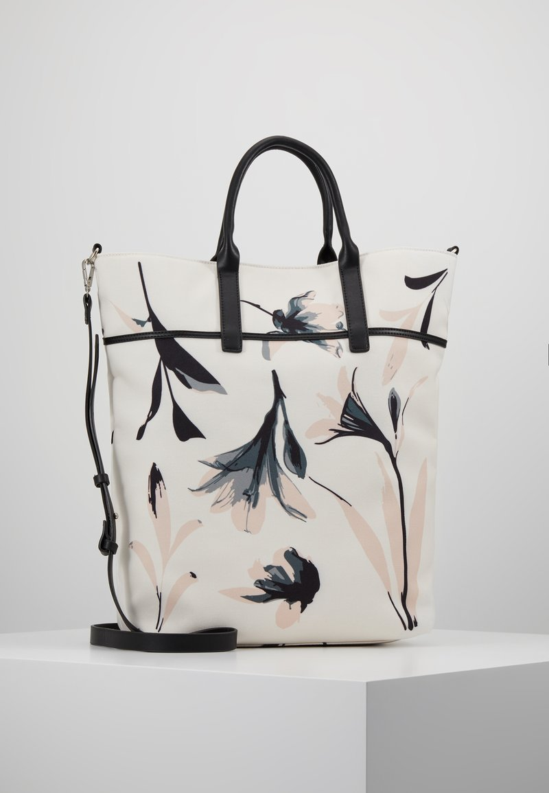 KIOMI - Shopping bag - offwhite/rose/black
