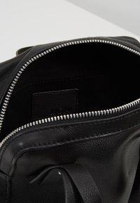 KIOMI - LEATHER - Across body bag - black - 4