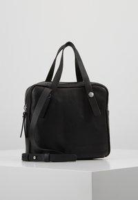 KIOMI - LEATHER - Across body bag - black - 0