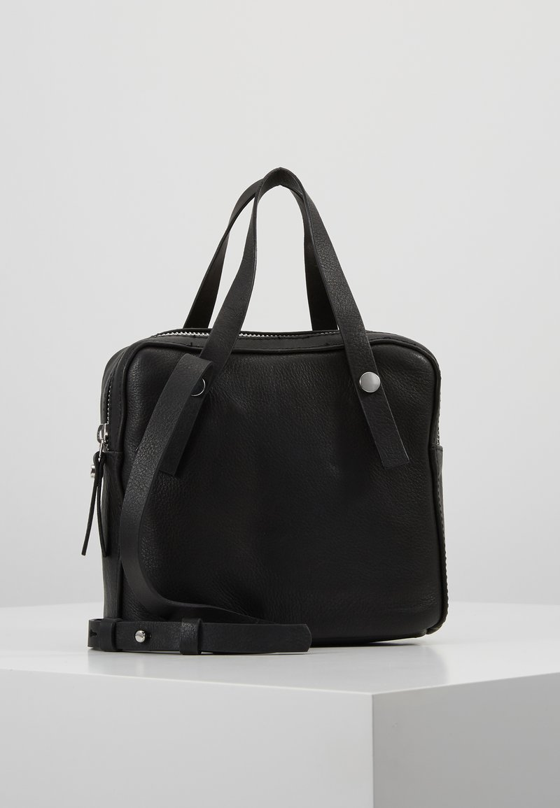 KIOMI - LEATHER - Across body bag - black