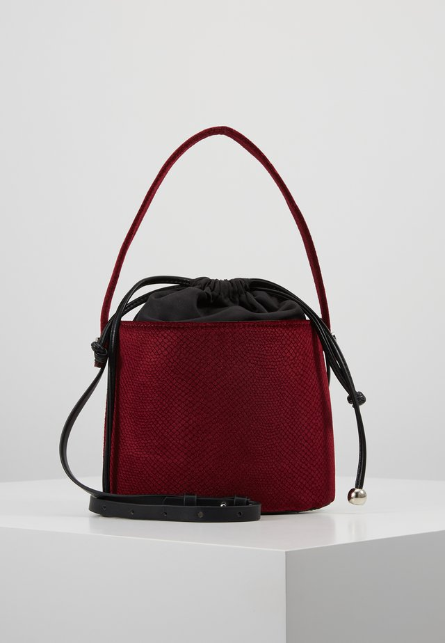 Sac bandoulière - ruby red