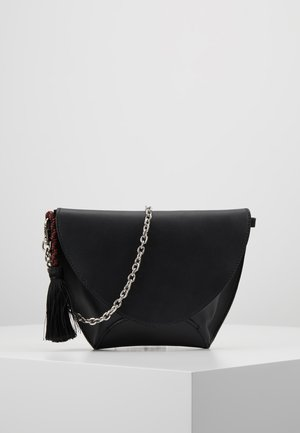 LEATHER - Clutch - black