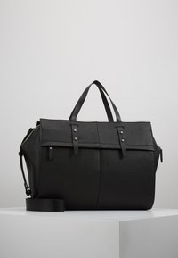 KIOMI - LEATHER - Bolsa de fin de semana - black - 0
