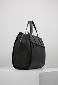 KIOMI - LEATHER - Bolsa de fin de semana - black - 3