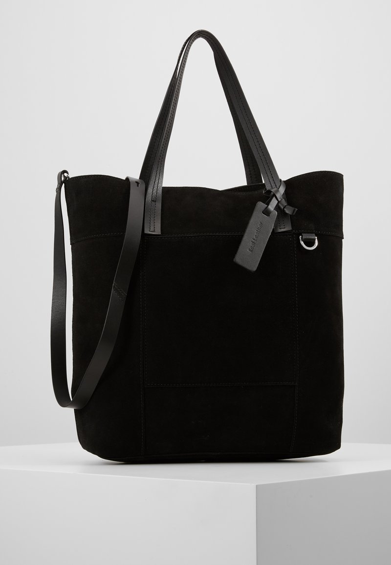 KIOMI - LEATHER - Velká kabelka - black