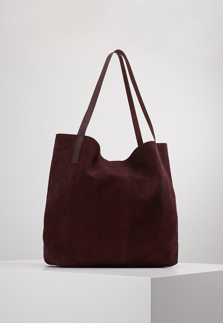 KIOMI - LEATHER - Velká kabelka - purple