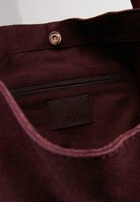 KIOMI - LEATHER - Velká kabelka - purple - 6