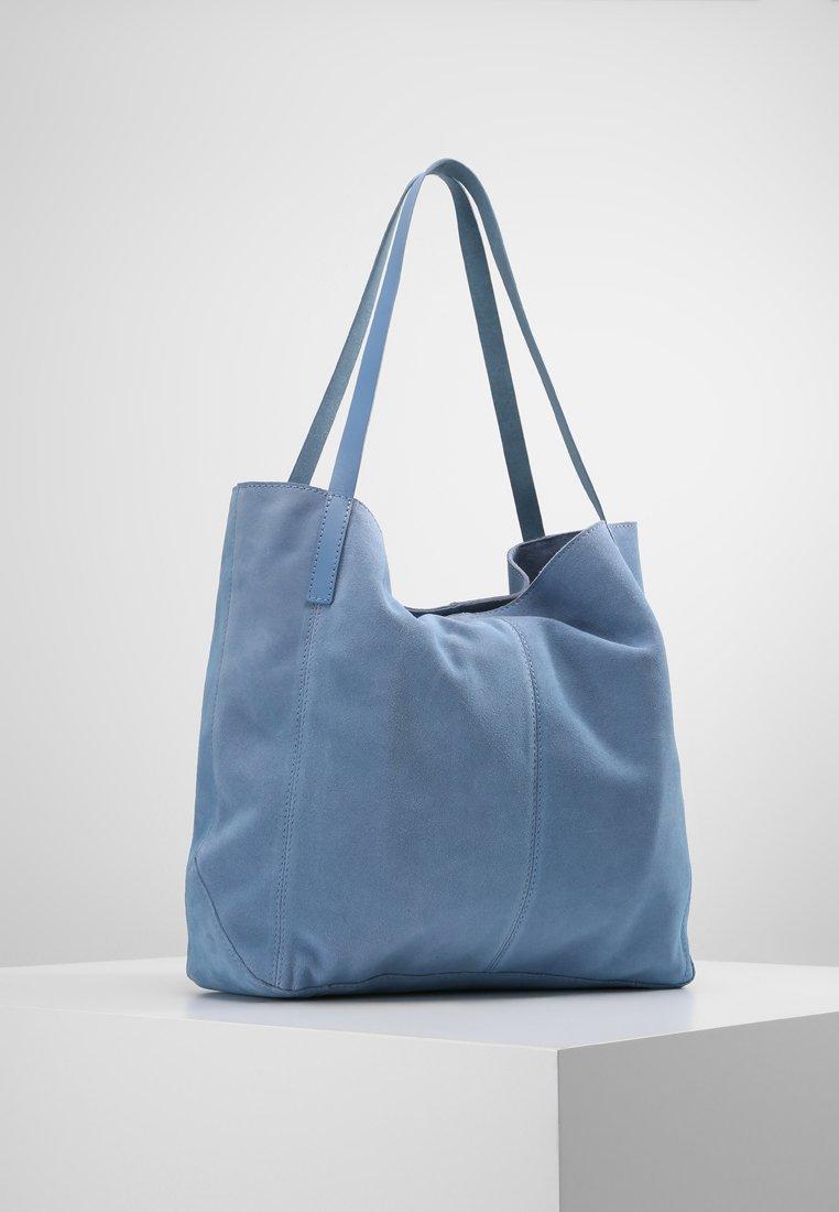 KIOMI - LEATHER - Shopping bags - blue