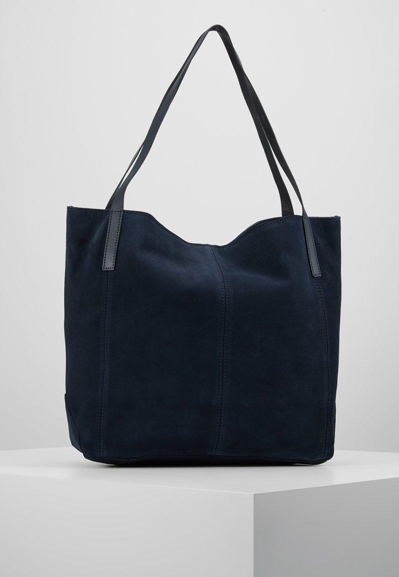 KIOMI - LEATHER - Shopping bags - dark ocean