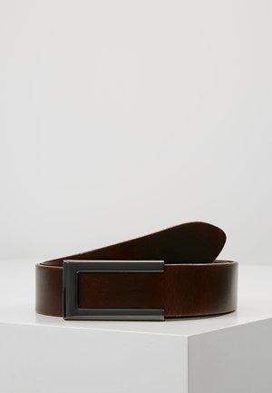 Belt business - marron