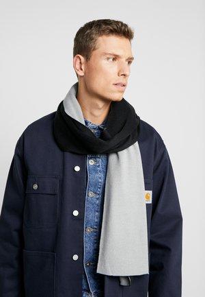 Sjaal - light grey/black