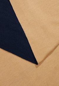 KIOMI - Bufanda - dark blue/ camel - 2