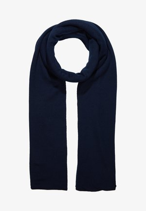 Szal - dark blue/ camel