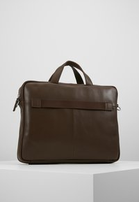 KIOMI - LEATHER - Briefcase - dark brown - 0