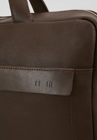 KIOMI - LEATHER - Briefcase - dark brown - 6