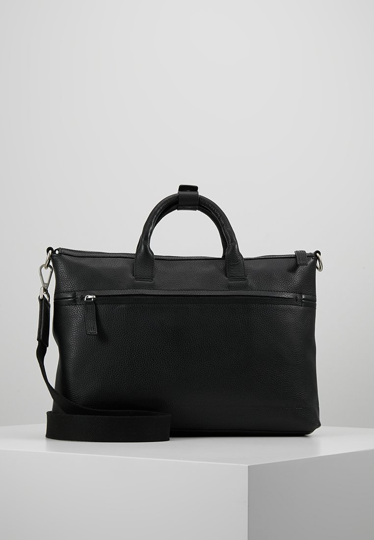 KIOMI - LEATHER - Briefcase - black