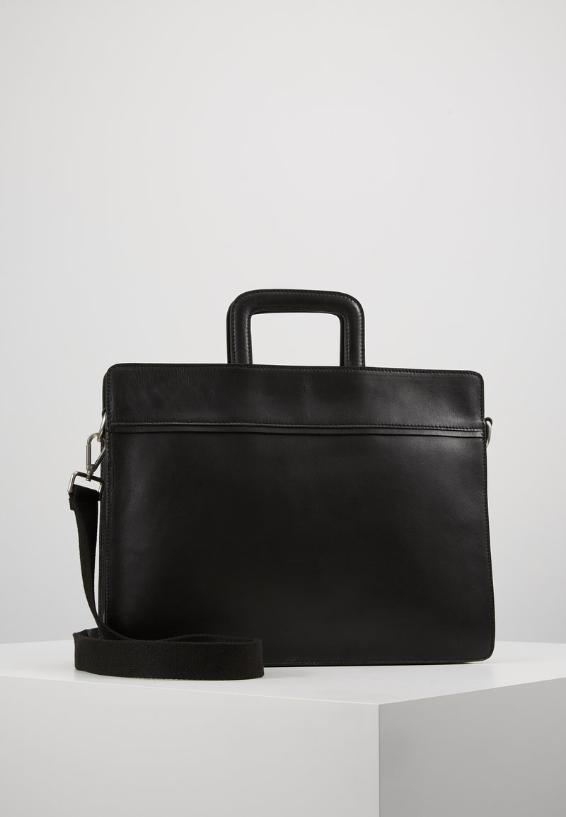 KIOMI - LEATHER - Briefcase - black