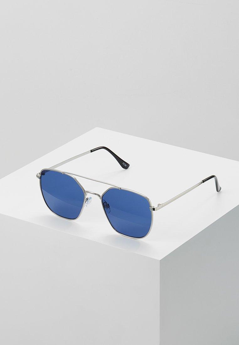 KIOMI - Sunglasses - silver-coloured/blue
