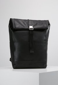 KIOMI - LEATHER - Rucksack - black - 0