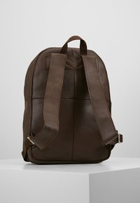 KIOMI - LEATHER - Reppu - dark brown - 2