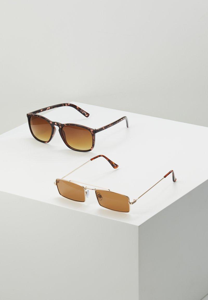 KIOMI - 2 PACK - Sunglasses - brown