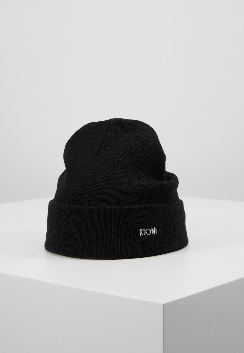 KIOMI - Čepice - black