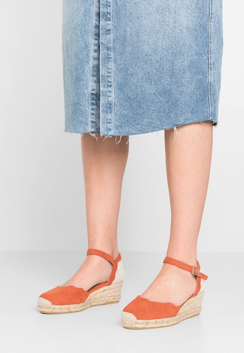 Kanna - ELVIRA - Korkeakorkoiset sandaalit - naranja
