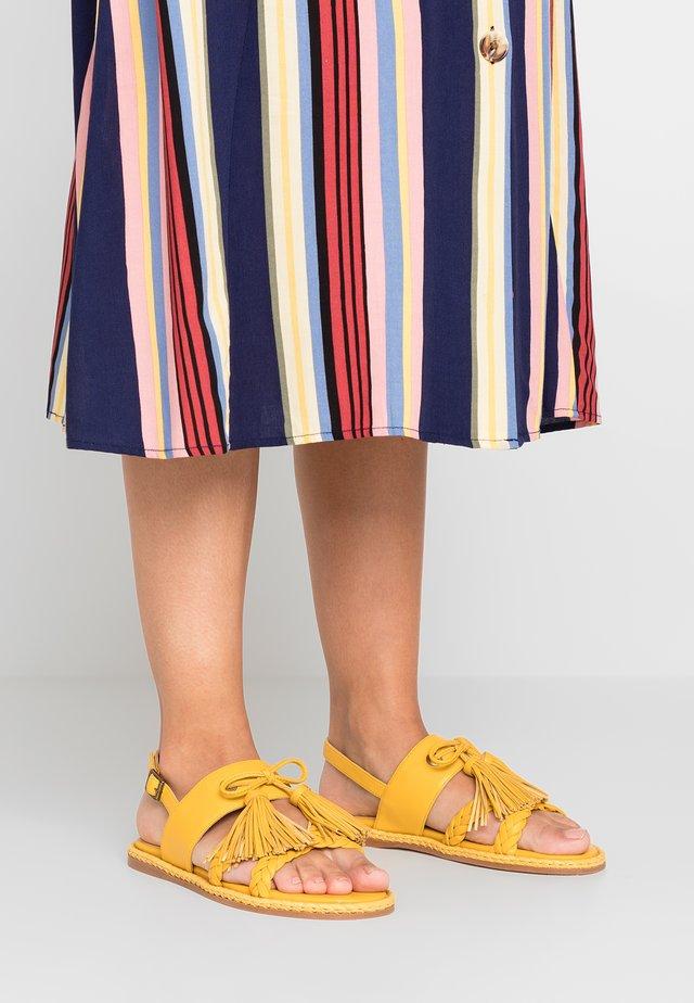 GLENDA - Sandals - sofia amarillo