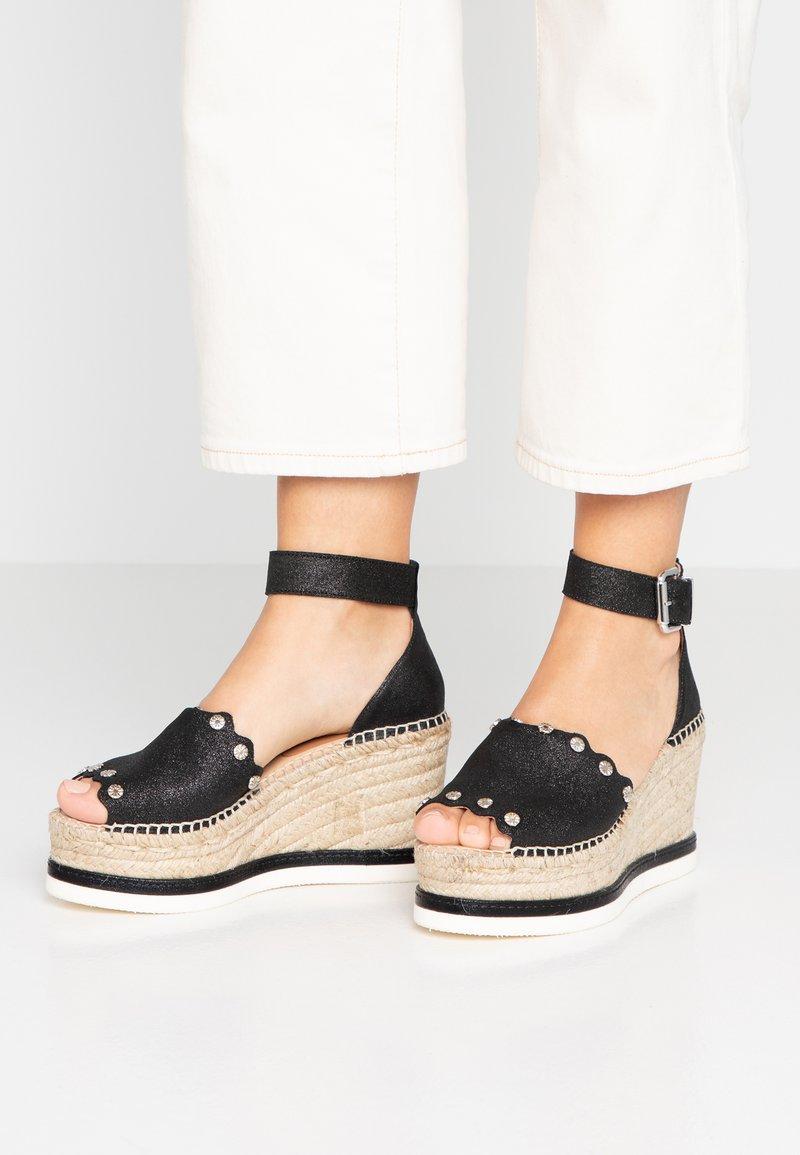 Kanna - MALI - High Heel Sandalette - black