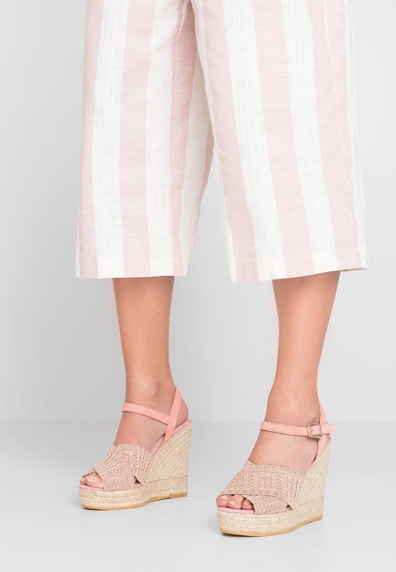 Kanna - SOFIA - High heeled sandals - rose