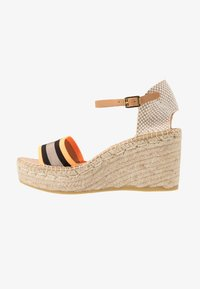 Kanna - CAPRI - Korkeakorkoiset sandaalit - naranja fluor - 1