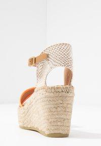 Kanna - CAPRI - Korkeakorkoiset sandaalit - naranja fluor - 5
