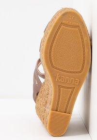 Kanna - SOFIA - High heeled sandals - mammut marrakech - 6