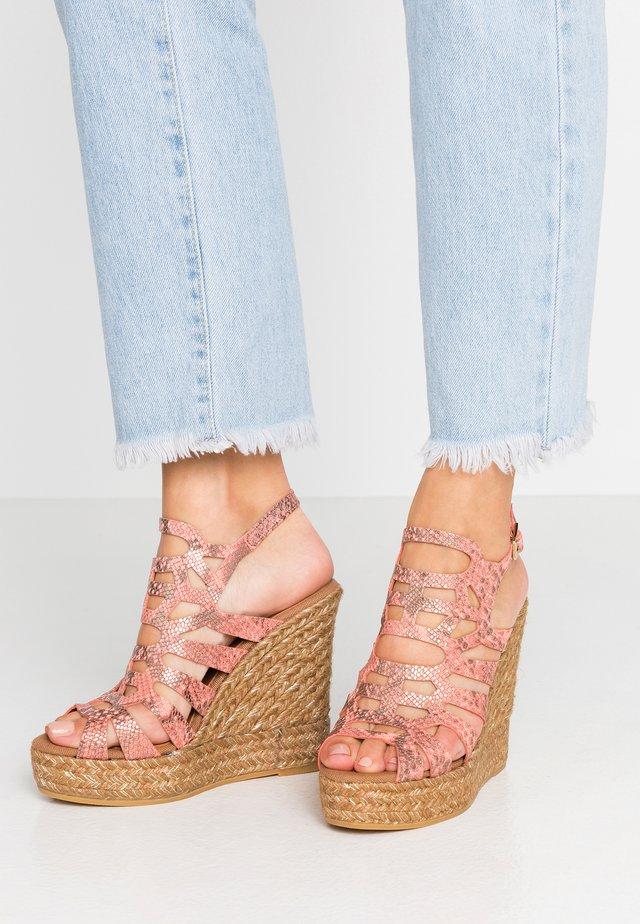 SOFIA - High Heel Sandalette - rosa