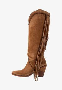 Kanna - SUVA - High heeled boots - COGNAC - 1