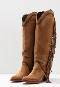 Kanna - SUVA - High heeled boots - COGNAC - 4