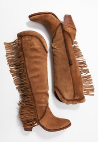 Kanna - SUVA - High heeled boots - COGNAC - 3