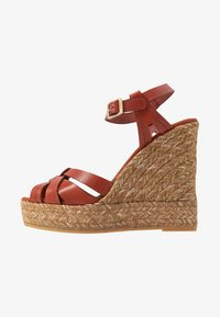 Kanna - SOFIA - Platform sandals - lucido arcilla - 1