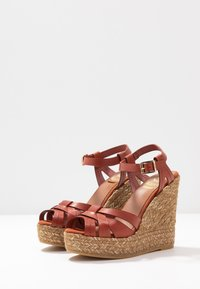 Kanna - SOFIA - Platform sandals - lucido arcilla - 4