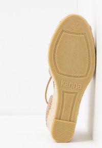 Kanna - ANIA - Platåpumps - sabbia - 6