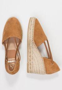 Kanna - ANIA - Platform heels - cuero - 3