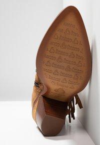 Kanna - SUVA - Ankle boots - cognac - 6