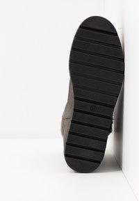 Kanna - MISURI - Platform ankle boots - cortina oil gris - 6