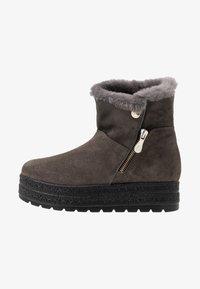 Kanna - MISURI - Platform ankle boots - cortina oil gris - 1