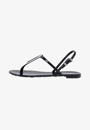 JELLY IKONIC SLING - Teenslippers - black
