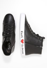 KARL LAGERFELD - SKOOL IKONIC LACE - High-top trainers - black - 3