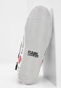KARL LAGERFELD - SKOOL IKONIC LACE - Vysoké tenisky - black - 6